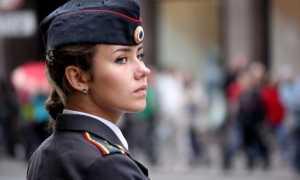 Как девушке устроиться на службу в полицию
