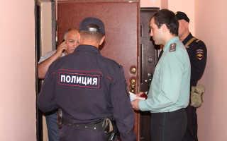 Может ли полиция зайти в квартиру без разрешения собственника жилья