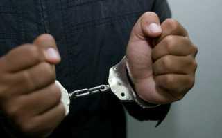 Порядок проведения административного задержания