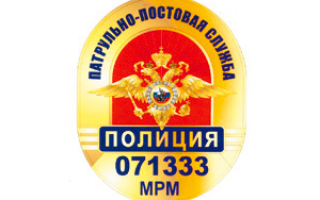 Патрульно-постовая служба полиции (ППС)
