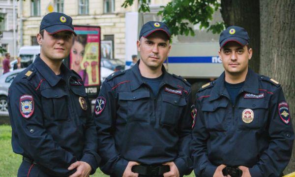 Форма полицейских