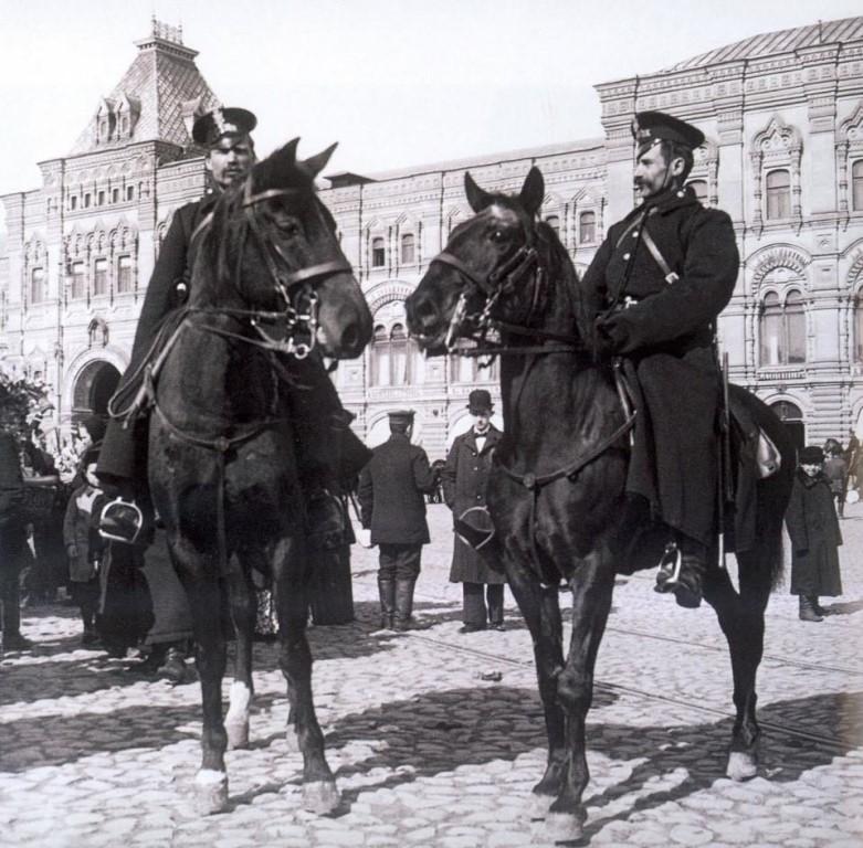 Конная полиция в россии